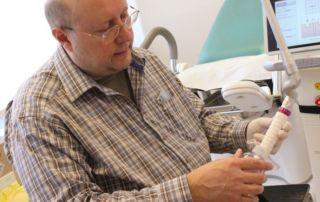 Dr Balogh Illés az új Syneron Candela lézerrel