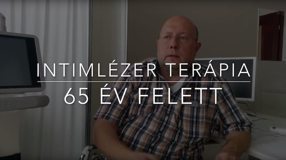 Intimlézer terápia 65 év felett